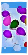 Balloon Frenzy Bath Towel
