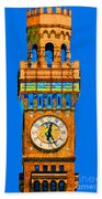 Baltimore Clock Tower Bath Towel