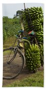 Banana Bike Bath Towel