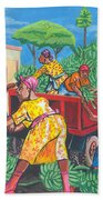 Banana Delivery In Cameroon 01 Bath Towel