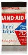 Band-aid Box Bath Towel