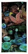 Bandon Beach Oregon Pacific Tidal Pool Bath Towel