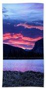 Banff Sunrise  Bath Towel
