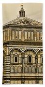 Baptistry - Florence Italy Bath Towel
