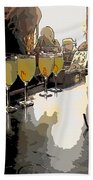 Bar Scene - Absinthe At Pirates Alley Bath Towel