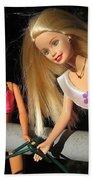 Barbie Escapes Bath Towel