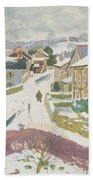 Barbon In The Snow Hand Towel
