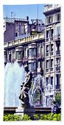 Barcelona Fountain Bath Towel