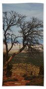 Bare Tree Bath Towel