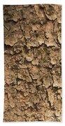 Bark Of A Tree Bath Towel