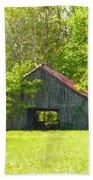 Barn From The Forgotten Farm Bath Towel