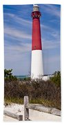 Barnegat Lighthouse Bath Towel