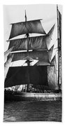 Barquentine, 1871 Hand Towel
