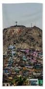 Barrio In Lima Bath Towel