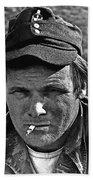 Barry Sadler The Green Berets Homage 1968 Tucson Arizona 1971-2008 Bath Towel