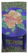 Barstool Hibiscus Bath Towel