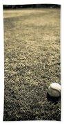 Baseball Field 3 Bath Towel