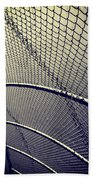 Baseball Field 9 Bath Towel
