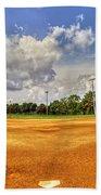 Baseball Field Bath Towel