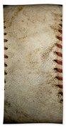 Baseball Seams Bath Towel