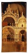 Basilica Di San Marco Hand Towel