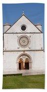 Basilica Of St. Francis Of Assisi Bath Towel