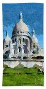 Basilica Sacred Heart- Paris Bath Towel