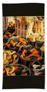 Baskets Of Gourds Bath Towel