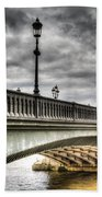 Battersea Bridge London Bath Towel