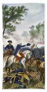 Battle Of Eutaw Springs Bath Towel