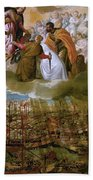 Battle Of Lepanto Bath Towel
