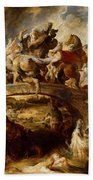 Battle Of The Amazons Bath Towel