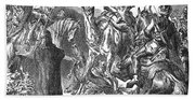 Battle Of The Camel, 656 Bath Towel