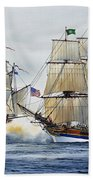 Battle Sail Bath Towel