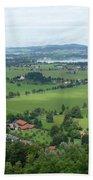 Bavarian Green Valley Bath Towel