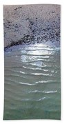 Beach Abstract Bath Towel