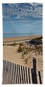 Beach At Cape Henlopen Bath Towel