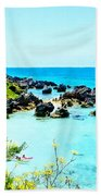 Beach At St. George Bermuda Bath Towel