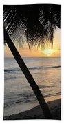 Beach At Sunset 4 Bath Towel