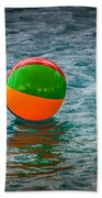 Beach Ball Float Bath Towel