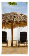 Beach Hut For Two Bath Towel