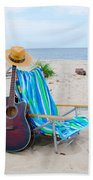 Beach Music Bath Towel