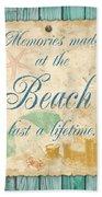 Beach Notes-a Bath Towel