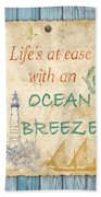 Beach Notes-c Bath Towel