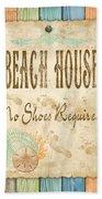 Beach Notes-d Bath Towel