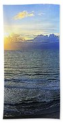 Beach Panorama Bath Towel