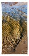 Beach Wave Pattern. Bath Towel