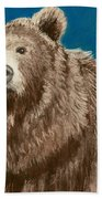 Bear Hand Towel