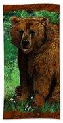 Bear Naked Bath Towel