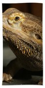 Bearded Dragon Profile Bath Towel